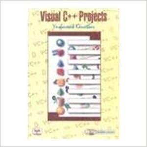 Visual C++ Projects,Kanetkar 2005 Edition price comparison at Flipkart, Amazon, Crossword, Uread, Bookadda, Landmark, Homeshop18