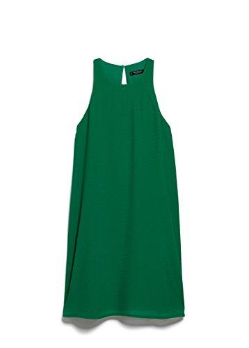 Mango Women's Sleeveless Dress, Billiard Green, 8