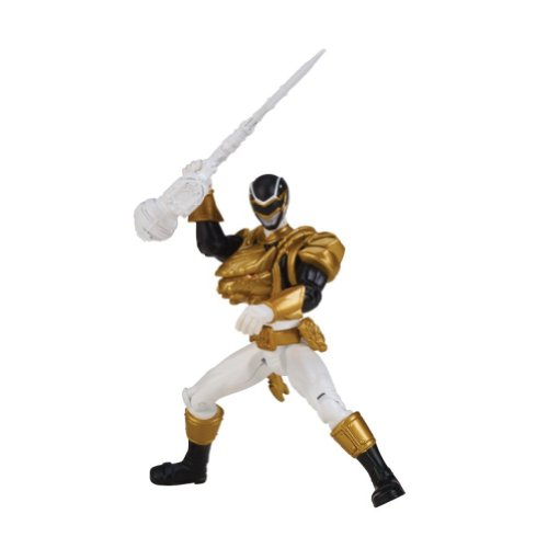 Power Rangers Megaforce Ultra Black Ranger Action Figure, 4 Inches
