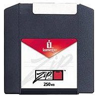 Iomega Zip 250MB Media for PC and MAC - 10 Pack