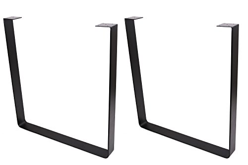 ECLV 710U Dining Table Legs, U-Shaped Heavy