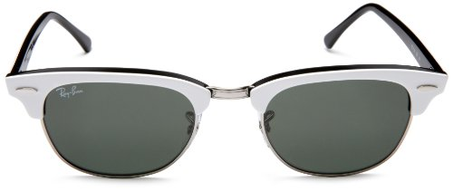 Green para RB Frame White mujer Gafas On Lens Ray de Black sol Ban 2156 wZxgn67Aq