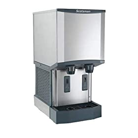 Scotsman HID312A-1 Meridian Ice Machine/Dispenser H2 Nugget Ice air cooled up t
