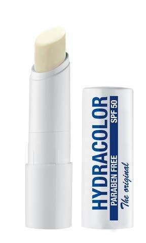Hydracolor Unisex Sun-Snow, Lippenstift mit SPF 50, Lippenpflege-Stift