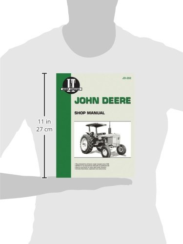 John Deere Shop Manual Jd-202 Models: 2510, 2520, 2040, 2240, 2440, 2640, 2840, 4040, 4240, 4440, 4640, 4840 (I&T Shop Service)