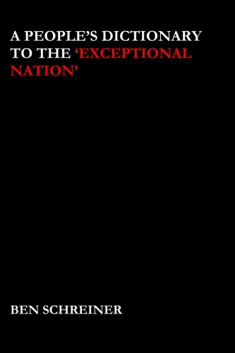 Read Online A People's Dictionary to the 'Exceptional Nation' pdf