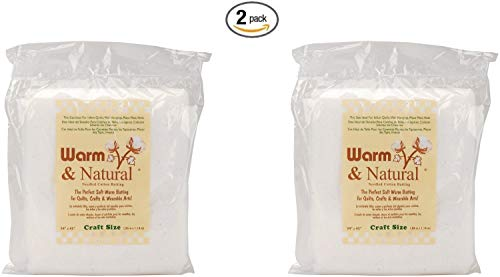 (Warm & Natural Cotton Batting-Craft Size 34
