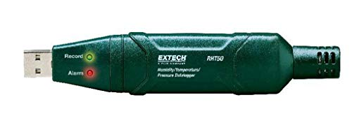 Extech RHT50 Temperature, Humidity and Barometric Pressure Data Logger ()