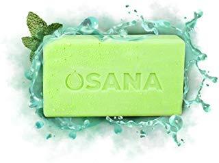 Osana All Natural Mosquito Repellent Soap (3 Bars, 1 Bonus Travel Bar) Citronella & Menthal