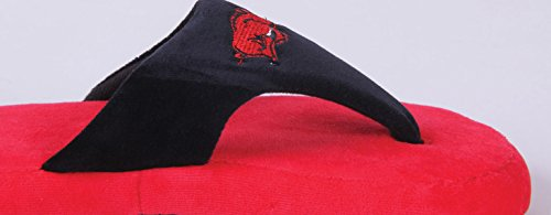 Womens Arkansas Flop Feet Mens and OFFICIALLY Razorbacks Happy NCAA LICENSED Comfy College qEwx6nvEZz