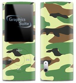Green Camo Skin for Apple iPod Nano 5th Generation