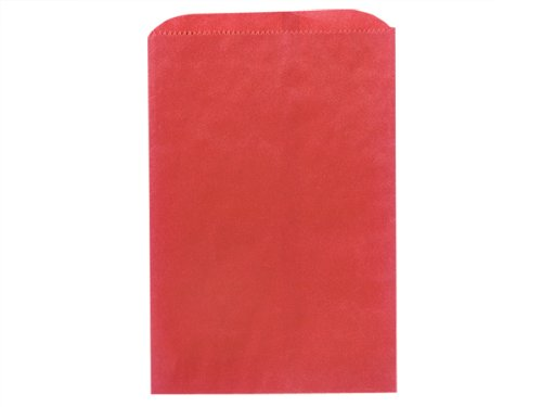 Pack of 1000, Solid Red Merchandise Bags 12 x 15'' for Holiday, Party, Special Occasion by Generic