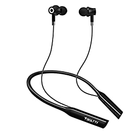 Fire-Boltt Echo 1400 Neckband 40 Hour Playtime in Ear Bluetooth Earphones with Explosive Sound, Google and Siri…