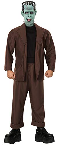Rubie's The Munsters Adult Herman Munster, Brown, One Size Costume]()