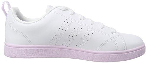 Ftwwht Vs Sneaker Donna Aerpnk 000 Clean Bianco Advantage Ftwwht adidas xqU60wTnT