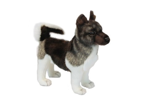 Akita Puppy Plush Soft Toy by Hansa. 28cm. 6143 by Hansa from Hansa