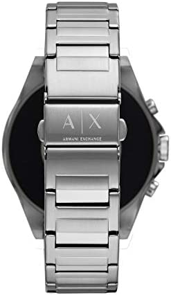 Armani Exchange Men's Smartwatch Powered with Wear OS by Google with Heart Rate, GPS, NFC, and Smartphone Notifications 31ekS1pbSSL