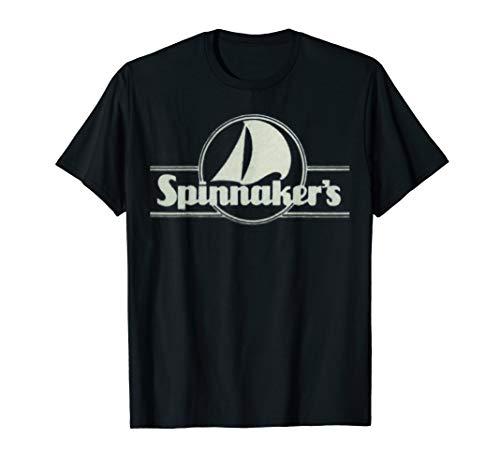 Spinnaker's Restaurant Retro Distressed 80s Logo T-Shirt ()