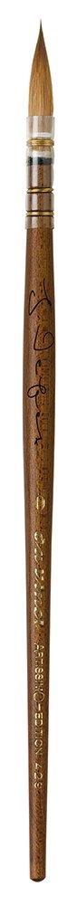 da Vinci 429-0 Artissimo Limited Edition Kolinsky Sable Quill Kebony Wood Handle, Size 0