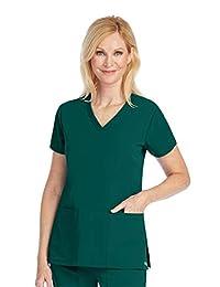 Barco Grey's Anatomy Signature 2115 Women's V-Neck Solid Scrub Top