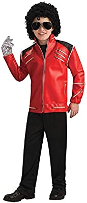 Rubies Costume Co Michael Jackson Costume, Childs Deluxe Beat It ...