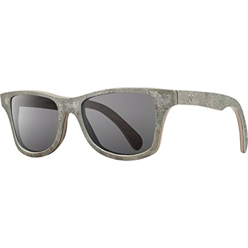 Shwood Select Line Canby Sunglasses in White Slate Grey - Canby Glass