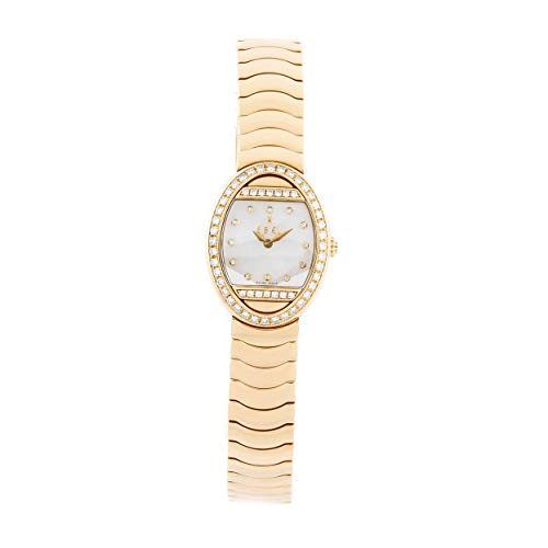 Ebel Satya Quartz (Battery) Mother of Pearl Dial Womens Watch E8057B1 (Certified Pre-Owned)