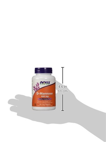 NOW D-Mannose 500 mg,120 Veg Capsules by NOW Foods (Image #4)