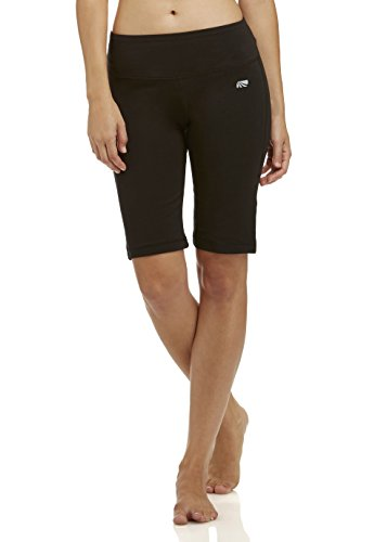 Marika Women's Becca Tummy Control Bermuda Shorts, Black, Medium