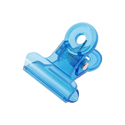 Blue Awning Paper (JSPOYOU Nail Extension Paper Holder C Curve Shaping Clip Fixing Clip Matching Tool Blue)