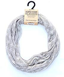 (Lavello Hometown Classics Collection Infinity Scarf Stars & Stripes Ensemble (Silver))