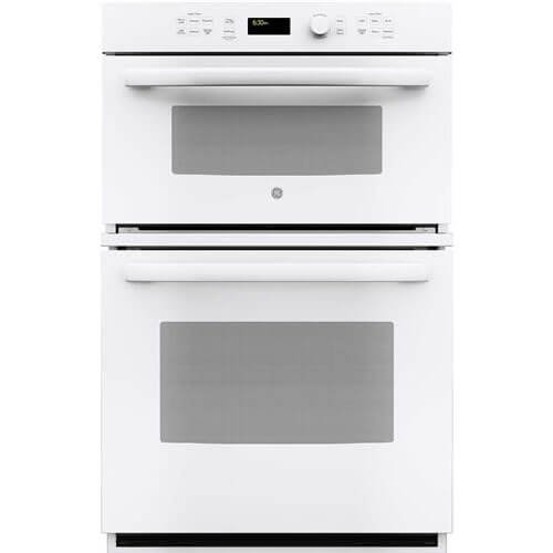 GE JK3800DHWW 27″ White Electric Combination Wall Oven