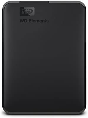 WD 2TB Elements Portable External Hard Drive - USB 3 0 - WDBU6Y0020BBK-WESN