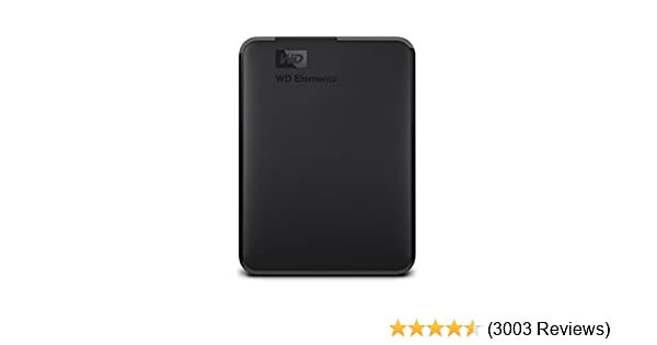 9d1f8d3a Amazon.com: WD 2TB Elements Portable External Hard Drive - USB 3.0 -  WDBU6Y0020BBK-WESN: Computers & Accessories