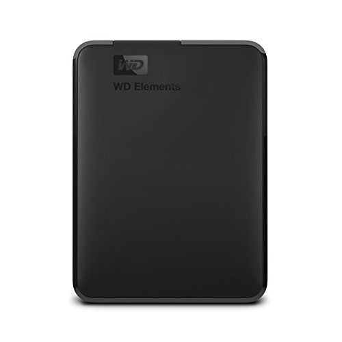 WD 2TB Elements Portable External Hard Drive - USB 3.0 - WDBU6Y0020BBK-WESN ()