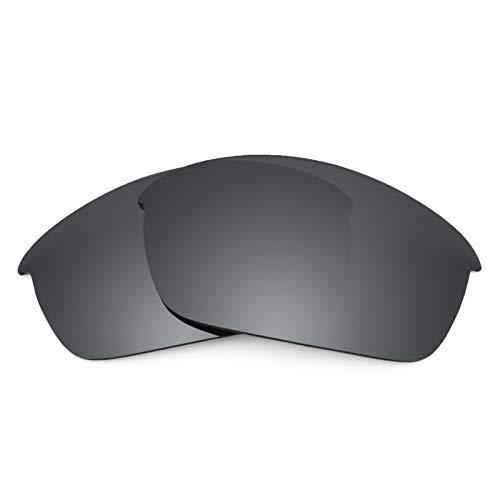Revant Polarized Replacement Lenses for Oakley Flak Jacket Black Chrome MirrorShield