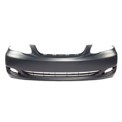 MBI AUTO – Painted To Match, Front Bumper Cover 2005 2006 2007 2008 Toyota Corolla LE CE Sedan, TO1000297
