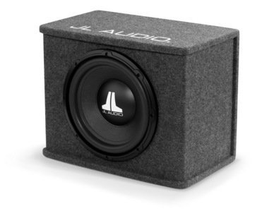 "JL Audio CS112-WXv2 Single 12"" 12WXv2 BassWedge Sealed Subwoofer Enclosure"