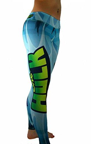 S2 Activewear She Hulk Superhero Leggings Yoga Pants Compression Tights for $<!--$69.99-->