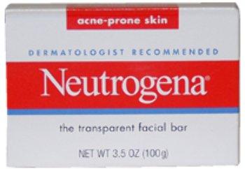 Unisex Neutrogena Acne-Prone Skin Formula Transparent Facial Bar Facial Bar 1 pcs sku# 1789363MA