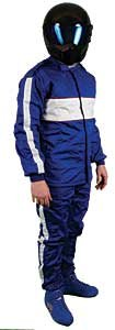 G-Force 4386XXLBU GF 505 Blue XX-Large Triple Layer Racing Pants