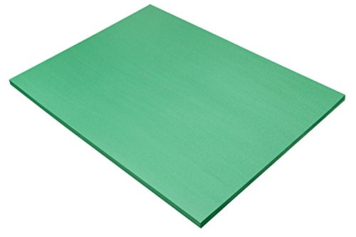 "Pacon SunWorks Construction Paper, 18"" x 24"", 50-Count, Holiday Green (8017)"