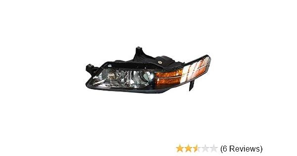 Acura Headlight Wiring Diagram, Tyc  Acura Tl Driver Side Headlight Assembly, Acura Headlight Wiring Diagram