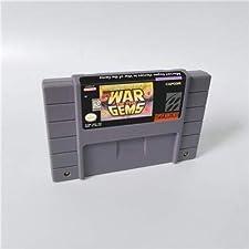 Game card - Game Cartridge 16 Bit SNES , Game Marvel Super Heroes War of the Gems - Action Game Card US Version English Language