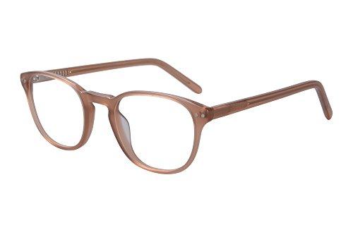 SHINU Mens/Womens Acetate Frame Progressive Multi-focus Anti-Blue Light Reading Eyewears-SH081(brown, anti-blue up 0 down 1.75)