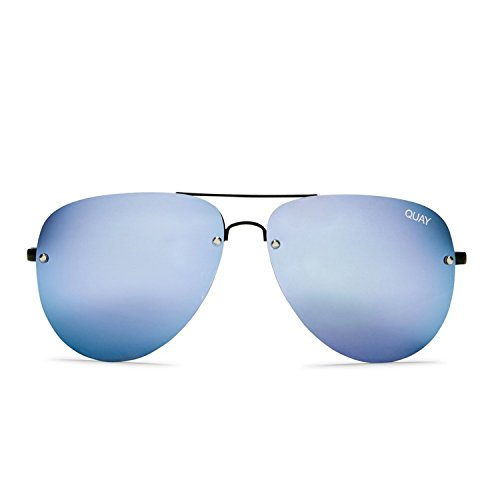 Quay Australia MUSE Women's Sunglasses Aviator w/ Mirrored Lenses - - Australia Sunglasses Online