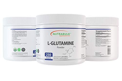 NutraBulk L-Glutamine powder - Supports Muscle Tissue & Immune System - Amino Acid –Sports Supplement -250 Grams…