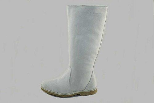 Delacroix Stiefel Shoe Leder Lammfell Winterstiefel 2019 weiß