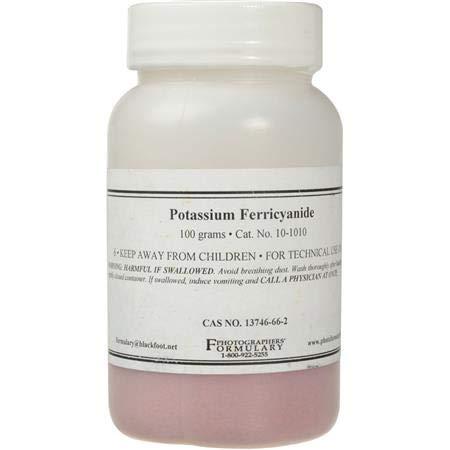 Photographers' Formulary Potassium Ferricyanide 1 pound by Photographers' Formulary