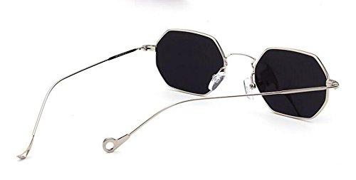 inspirées soleil du en cercle polarisées de Comprimés lunettes rond style Lennon retro métallique Mercure vintage de AxnwgI4